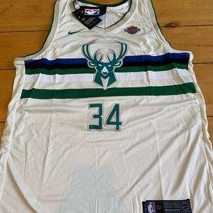 Giannis Bucks Nike Jersey